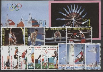 Olympiade 1988, Olympic Games, Sport - LOT gestempelt used