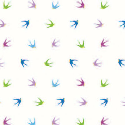 Swallows Print Tissue Paper Multi Listing 500x750mm