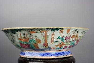 19th C. Chinese Famille-Rose Porcelain Bowl