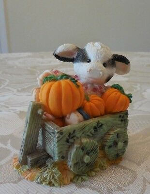 """Mary's Moo Moos """"I'm Your Little Pumpkin"""" 142859 **EXCELLENT CONDITION**"""