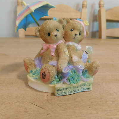 Cherished Teddies Abbey Press Whatever The Weather  2005 MINT