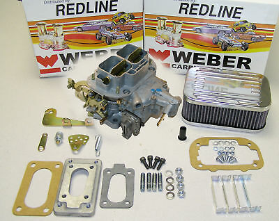 Weber Carb Conversion Kit fits Datsun 210 310 B110 B210 1970-1982 w/ A12 A14 A15