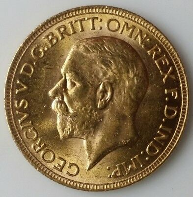 1930 SA Great Britain Gold Sovereign (Pretoria, South Africa)