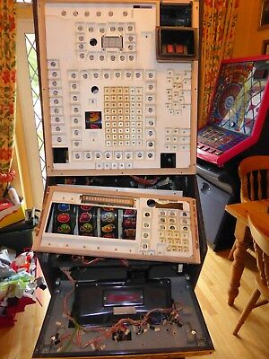 BFM Bell Fruit Machine Crazy Fruits Club  Cabinet only Spares 90's