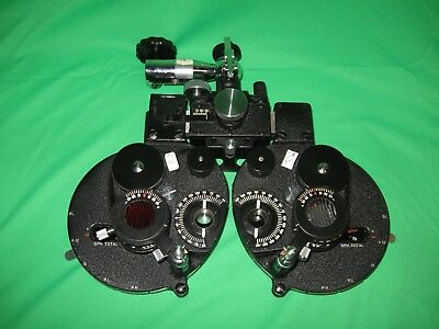 Bausch & Lomb Optometry Eye Exam Refractor Phoropter Testing Devise
