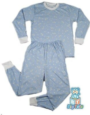 "BIG TOTS Baby Animals adult PJ's  46+""  chest baby print"