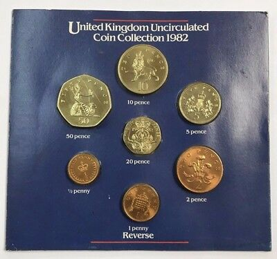 1982 United Kingdom Uncirculated Coin Collection