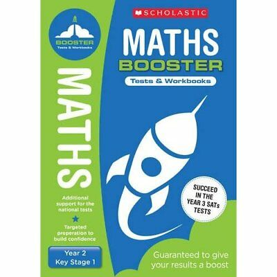 Maths Pack (Year 2) (National Curriculum SATs Booster P - Paperback NEW Clissold