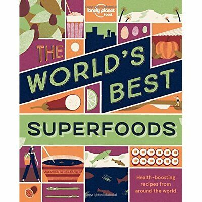 The World's Best Superfoods (Lonely Planet) - Paperback NEW Food, Lonely Pl