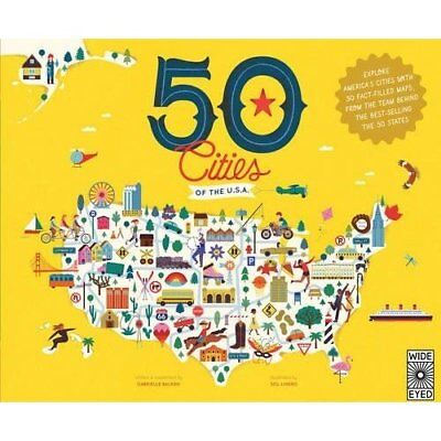 50 Cities of the U.S.A.: Explore America's cities with  - Hardcover NEW Balkan,
