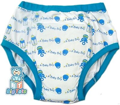 BIG TOTS Its a Baby Baoy adult  training pants baby style*