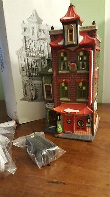 Dept 56 Christmas In The City Lighted 1990 WONG'S IN CHINATOWN 55379