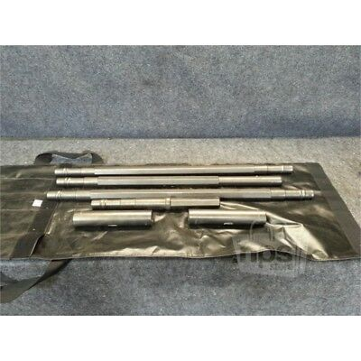 Manta Ray Rock Drilling Set 3 Striking Rods And 2 Couplings And 1 Taper Rod*