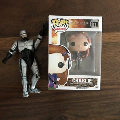 Supernatural Charlie Pop Figure Signed to You by Felicia Day and Robbie Thompson
