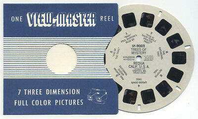 SP-9002 Trees of Mystery Requa California 1948 ViewMaster SP Reel