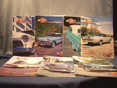 LOT of  7 LATE GREAT CHEVY TIMES CLASSIC CAR MAGAZINES MAY, JULY - DEC. 2003 EUC