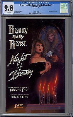 Beauty and the Beast: Night of Beauty #1 CGC 9.8 NM/MT Wp First 1990 Wendy Pini