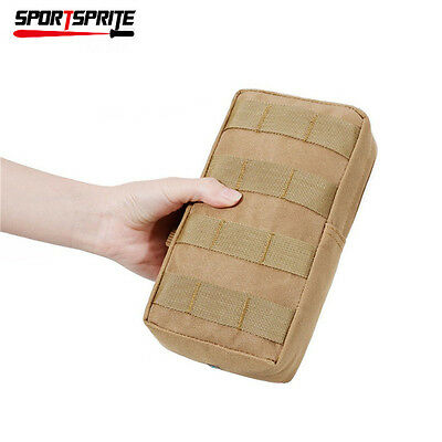 Tactical Molle Utility Bag Military Combat Vest Pouch For Hunting Hiking