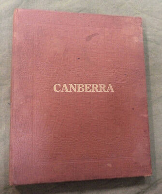 #cc.  Original 1913 Foundation Of Canberra Book - Extremely Rare