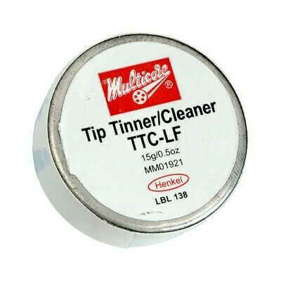 Multicore Mc751T 15Gm Tip Tinner / Cleaner Lead Free