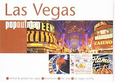 Las Vegas (Popout Map) (PopOut Maps) by Compass Maps Sheet map, folded Book The