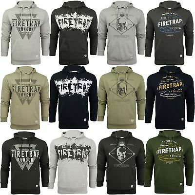 Mens Over-head Hoodie by Firetrap