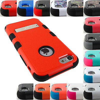 For Apple Iphone 7/7 Plus Shock Proof Tuff Rugged Armor Stand Case Cover+Stylus