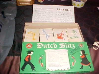 Vintage Dutch Blitz Card Game - Daystar - 1973 - Complete