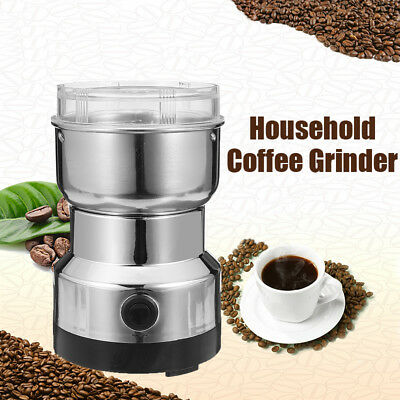 220V Electric Stainless Steel Home Grinding Milling Machine Coffee Bean Grinder