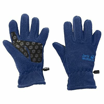 Jack Wolfskin Kinder  Fleece Handschuhe KIDS FLEECE GLOVE royal blue blau