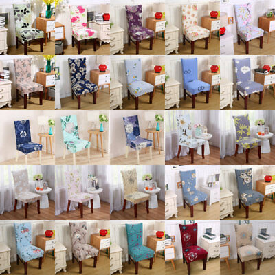 Stretch Chair Covers Seat Covers Spandex Washable Banquet Wedding Party Decor