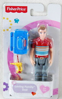 Fisher Price Loving Family FATHER Dad Dollhouse Figure *New*