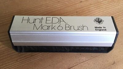 HUNT EDA MARK 6 brush made in england for cleaning vinyl records