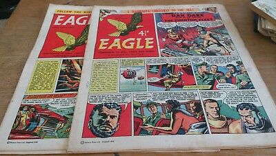 2 Eagle Comics 1958, Inc Xmas Edition