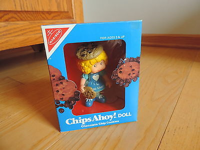 Nabisco DOLL Chips Ahoy Chocolate Chip Cookie Doll NRFB 1983 Vintage Toy
