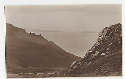 Anglesey and Puffin Island from The Cwm, Judges 3036 Postcard, A875