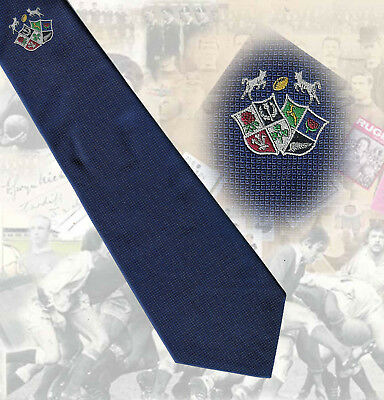 Barbarians - shields - 9.5cm RUGBY TIE