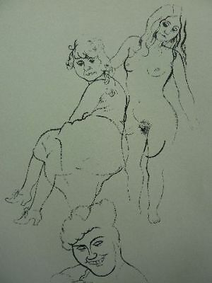 "GEORGE GROSZ - Lithographie 1920 ""Jugend"" !!"