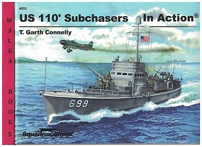 4033   US 110 foot Subchasers  in Action <> <> Squadron/Signal <>