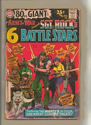 OUR ARMY AT WAR No 164 Presents SGT- ROCK'S BATTLE  STARS!