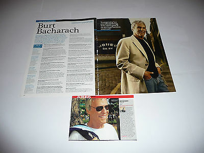 20+ Burt Bacharach Cuttings/Clippings (1995-2017)