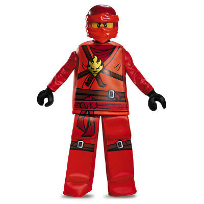 Kai Prestige Ninjago Red LEGO Child Costume | Disguise 99084