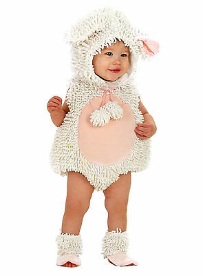 Little Laura Lamb Sheep Costume Infant Baby Toddler 6 9 12 18 24 months 2 2T