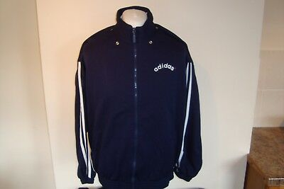 Vintage Adidas Tracksuit Track Top Jacket Large Mens