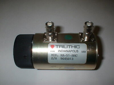 Trilithic Variable Rotary Attenuator RA-51 BNC      BOX#14