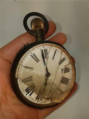 Vintage Goliath Pocket Watch for Restoration