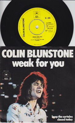 Colin BLUNSTONE * Weak For You * 1973 Dutch 45 * The ZOMBIES