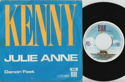KENNY * 1975 UK GLAM Rock * Belgian 45 * Hear it!
