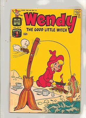 WENDY, THE GOOD LITTLE WITCH No 25 with/CASPER and THE WITCH SISTERS