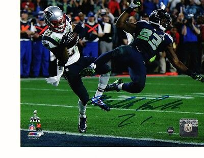 Malcolm Butler New England Patriots Autographed Signed 8x10 photo w/coa Steiner,